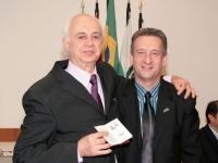 Entrega de Credenciais Londrina - 16/06/2010