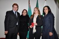 Entrega de Credenciais Curitiba 16/11/2011