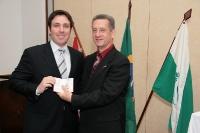 Entrega de Credenciais Londrina 05/09/2011