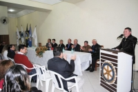 Entrega de Credenciais Matinhos e Posse do novo delegado - 01/07/2011