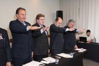 Entrega de Credenciais Londrina - 31 de outubro