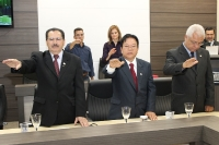 Entrega de Credenciais e Posse da Nova Delegada Regional - Maringá dia 27 de Março
