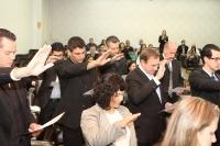 Entrega de Credenciais - Cascavel 16 de maio