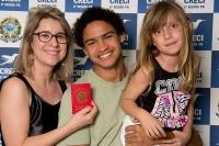 Entrega de Credenciais - Curitiba 08 de outubro