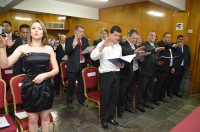 Entrega de Credenciais - Foz do Iguaçu 23 de outubro