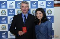 Entrega de Credenciais - Londrina dia 25 de fevereiro