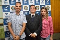 Entrega de credenciais - Foz do Iguaçu no dia 05 de agosto