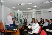 Entrega de credenciais - Foz do Iguaçu 24 de abril