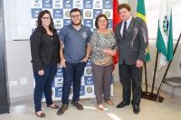 Entrega de credenciais - Londrina 11 de agosto de 2017