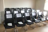 Entrega de credenciais - Umuarama 10 de agosto