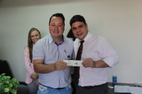 Entrega de credenciais - Umuarama 3 de abril
