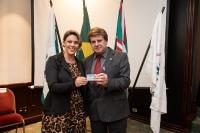Entrega de Credenciais - Curitiba 04 de outubro