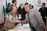 Entrega de credenciais - Maringá 18 de abril