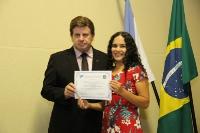 Entrega de credenciais - Ponta Grossa 25 de abril