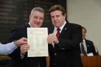 Entrega de Credenciais - Maringá 04 de Dezembro