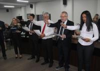 Entrega de Credenciais - Umuarama 16 de Outubro